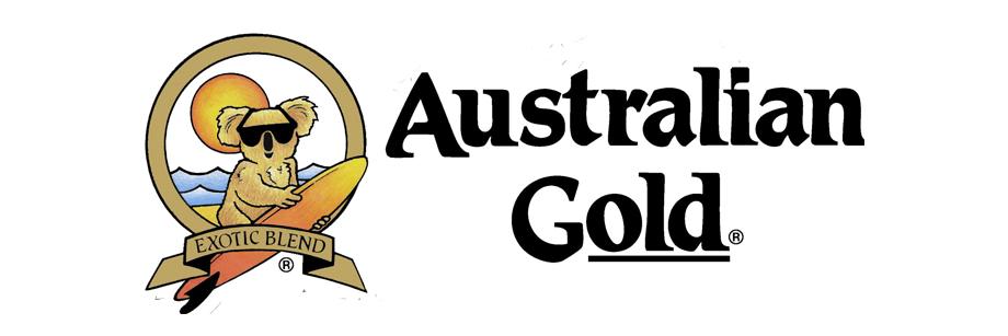 Logo de australian gold. Centro de estética y belleza en Terrassa